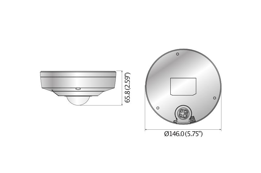XNF-8010KRVN 寸法図